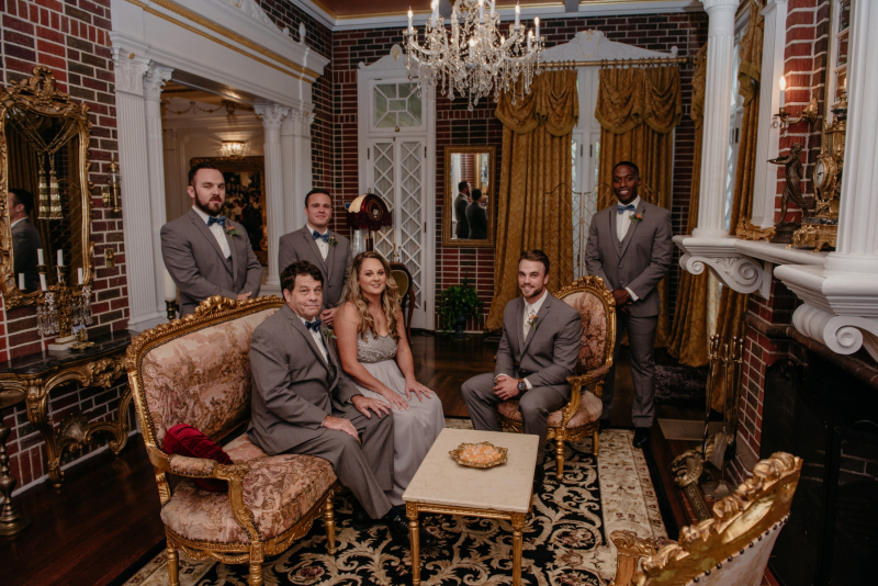 the historic mankin mansion fall wedding