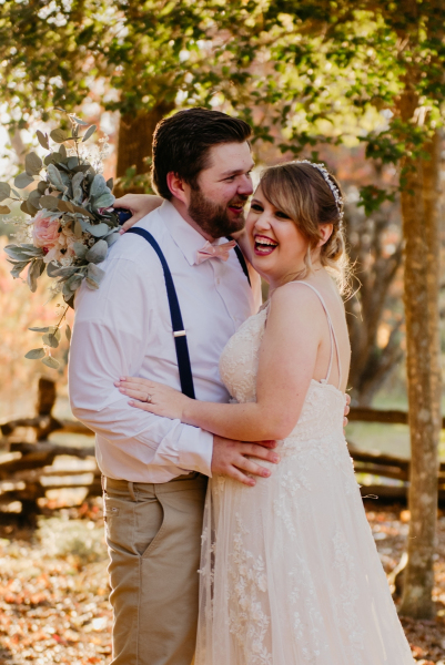 historic polegreen church fall wedding