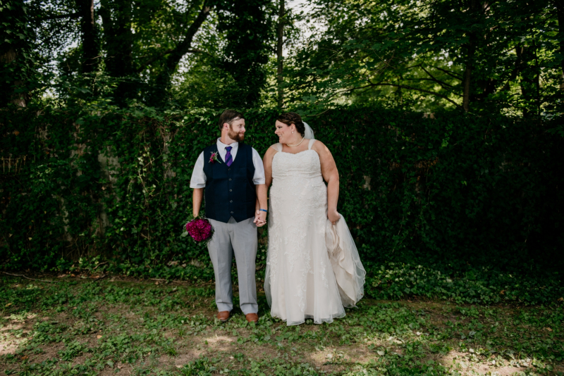 coopers landing summer wedding