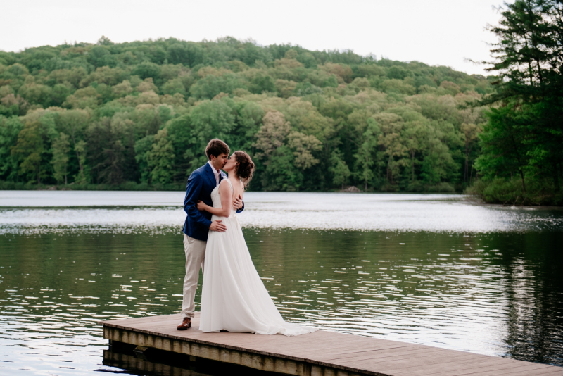 ross mountain country club summer wedding