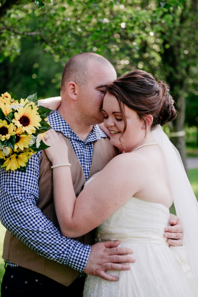 Maryland farm summer wedding