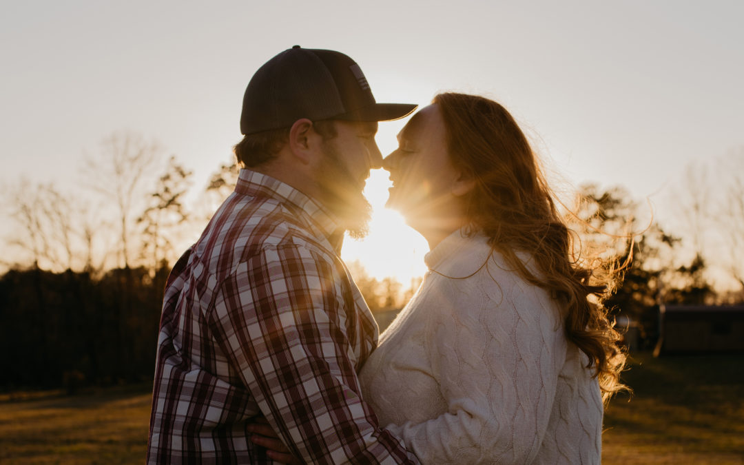 Virginia Farm Engagement Session | Kacee and Robert